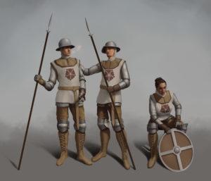 Celesian Military Orders - Pikemen