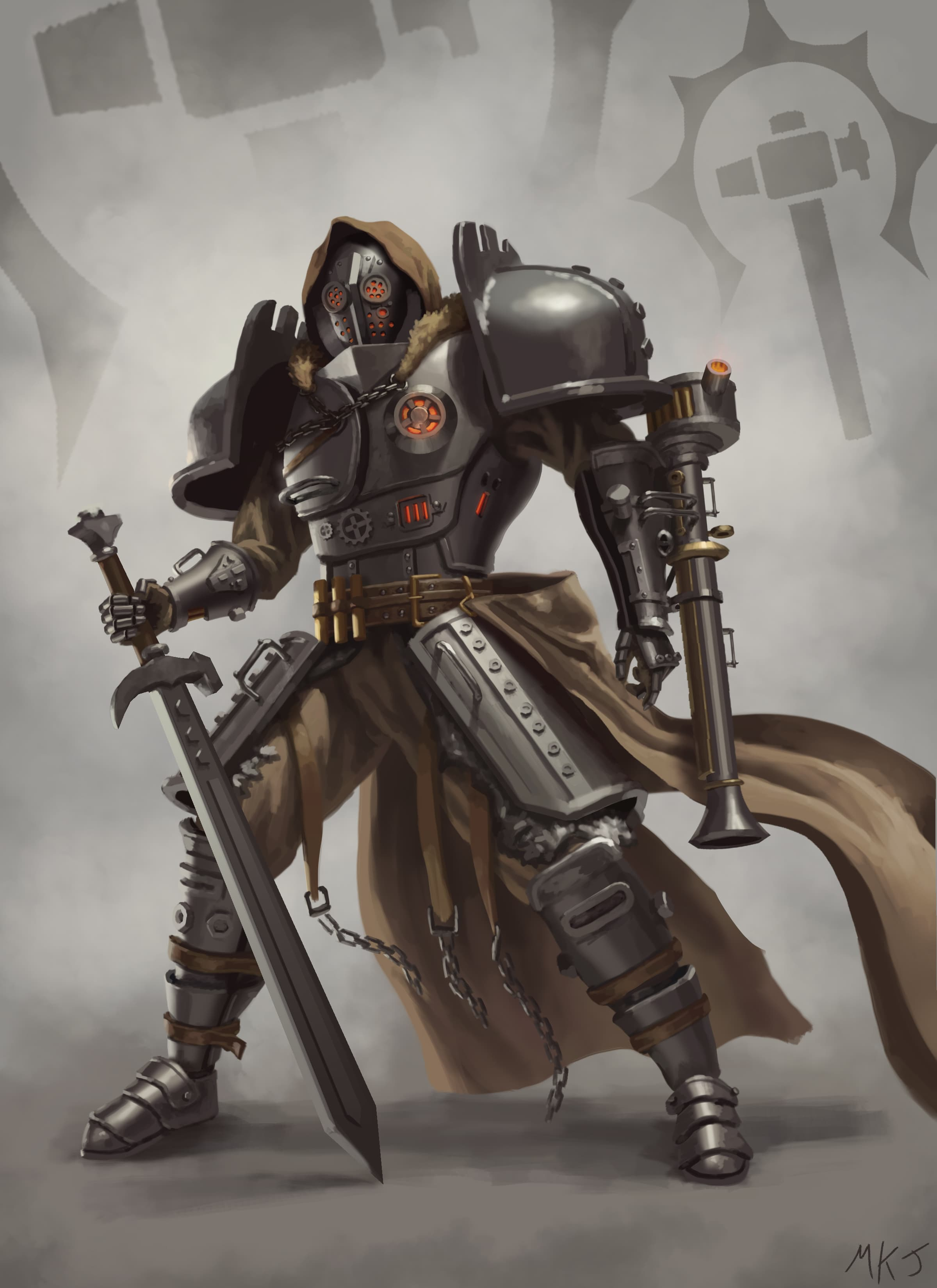 Ithican Empire Medium Praetorian - Ravager - Concept Art