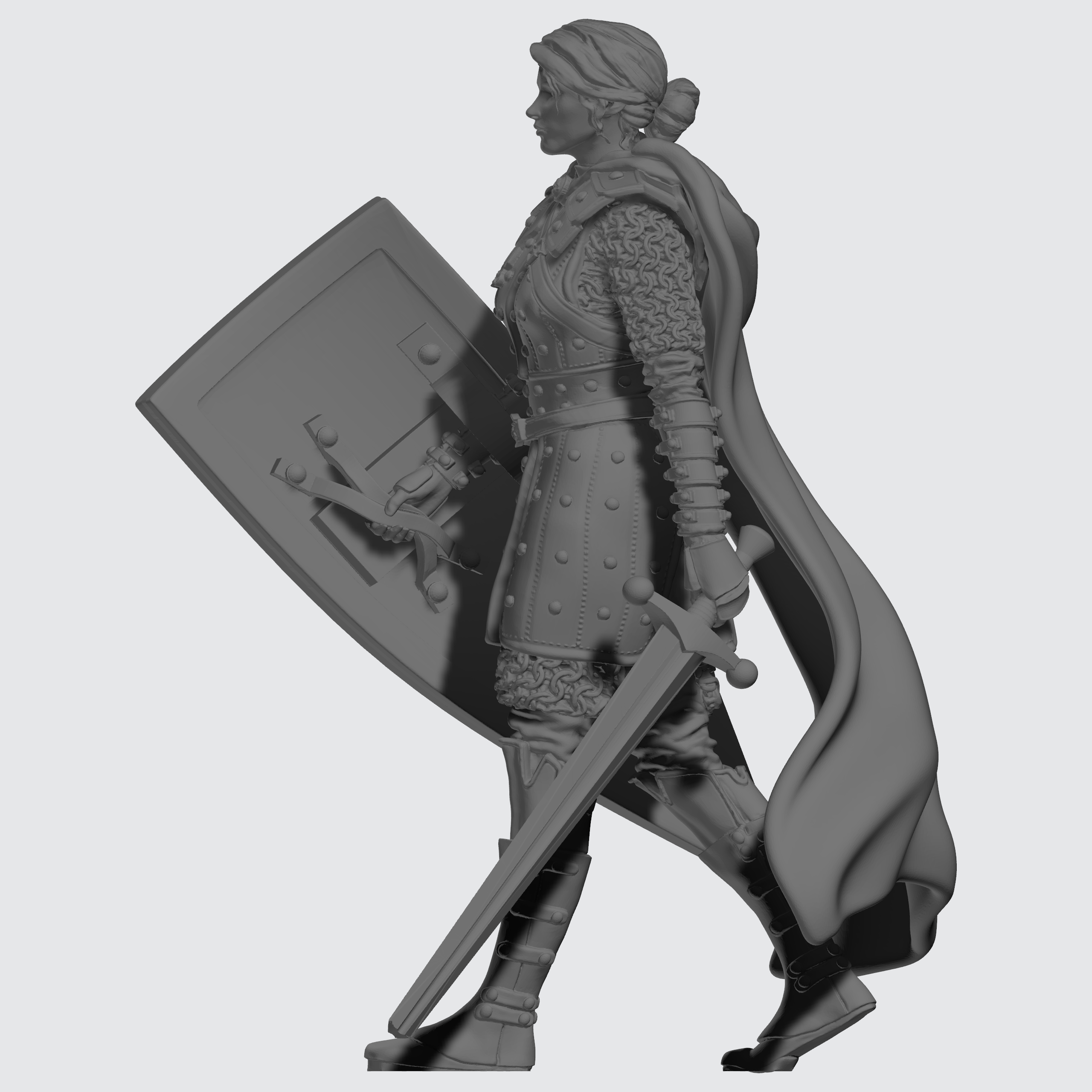 Kingdom of Celesia Individual Unit - Praetorian Pilot - Female Sculpt