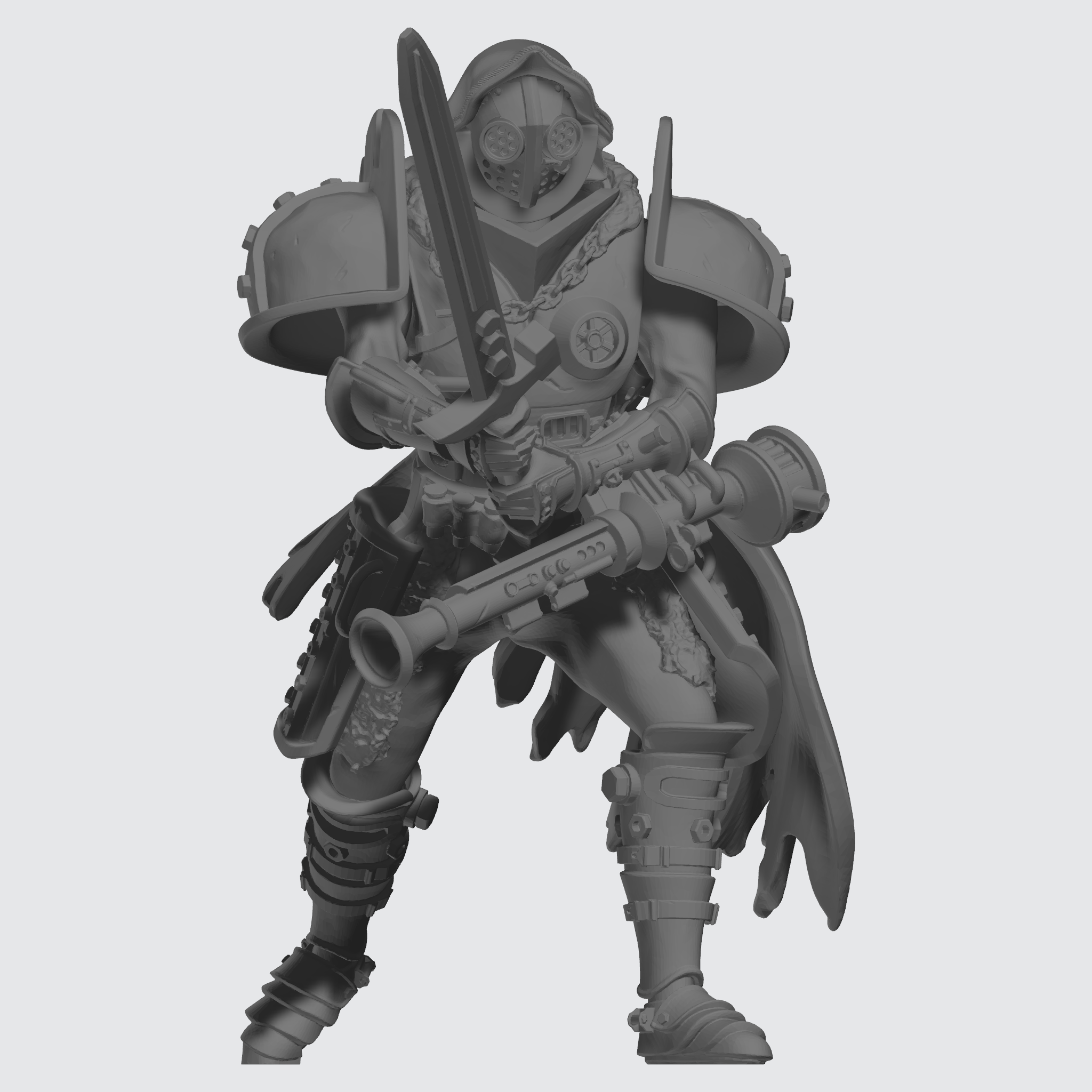 Ithican Empire Medium Praetorian - Ravager - Sculpt